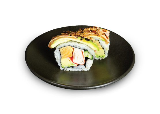 Deluxe item Rainbow Roll at Sushi Sushi